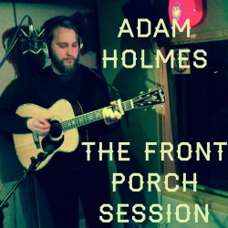 Adam Holmes in session for Amazing Radio's The Front Porch