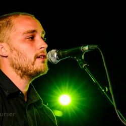 Adam Holmes (live), Photo by Sean Purser, Adam Holmes and the Embers live at BBC Pacific Quay