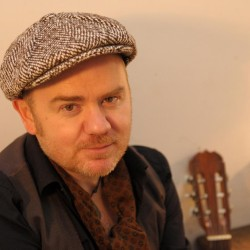 Edinburgh Celtic Americana musician Dean Owens, Photo by Louis de Carlo