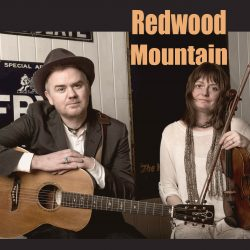 Front cover of Redwood Mountain CD with Dean Owens and Amy Geddes