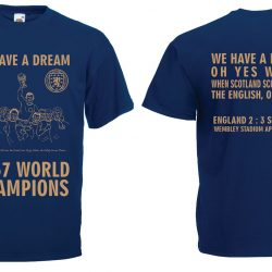 Scotland World Cup champions T Shirt